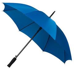 Blauwe paraplu's