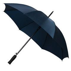 Donkerblauwe paraplu's