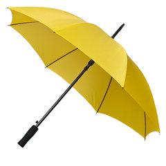 Gele paraplu's