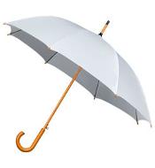 Luxe paraplu wit