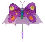 Kidorable paraplu Vlinder