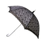 Kanten paraplu zwart_