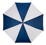 Golfparaplu Blauw - Wit_