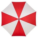 Falcone automatische paraplu - rood/wit_