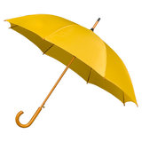 Luxe paraplu Donkergeel/lichtoranje_