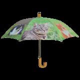 Paraplu met poezen