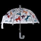 doorzichtige paraplu honden en katten