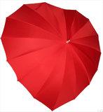Hart paraplu met bedrukking_