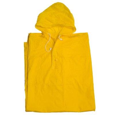 Regenponcho geel