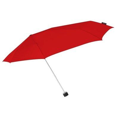 Stormini aerodynamische opvouwbare stormparaplu - rood