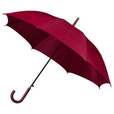 Golfparaplu met haak Bordeaux rood