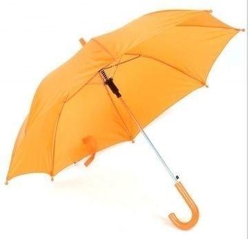Kleurige kinderparaplu Oranje