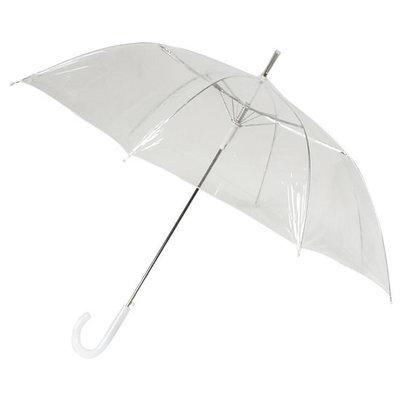Bedrukte doorzichtige paraplu met Logo