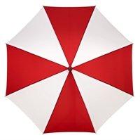 Falcone golf paraplu Rood - Wit
