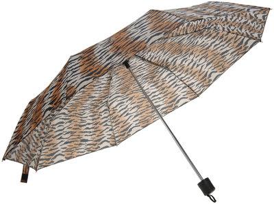 Tijgerprint paraplu - opvouwbaar