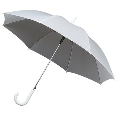 Witte paraplu met Haak