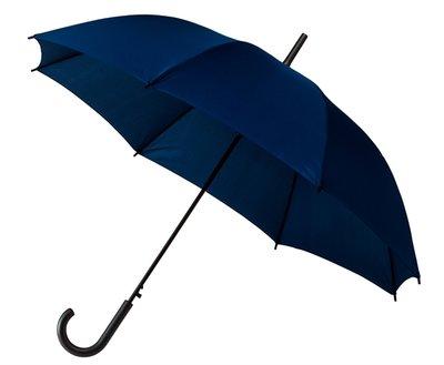 Golfparaplu donkerblauw met haak