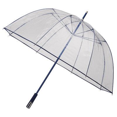 Doorzichtige golfparaplu Donkerblauw