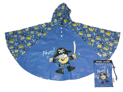 Bugzz kinder regenponcho Piraat