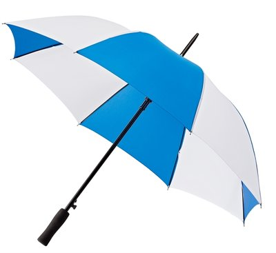 Falcone golf paraplu Blauw - Wit