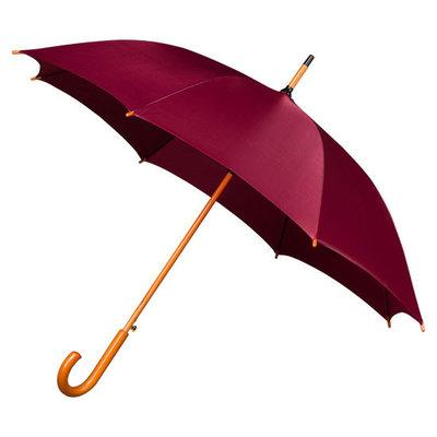 Luxe paraplu Bordeaux Rood