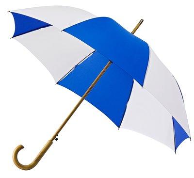 Falcone automatische paraplu - blauw/wit