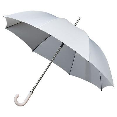 Luxe witte golfparaplu met haak