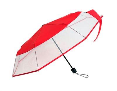 Falconetti opvouwbare paraplu rood