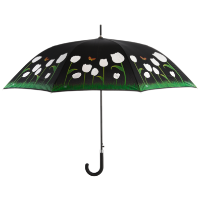 Kleur veranderende paraplu tulpen