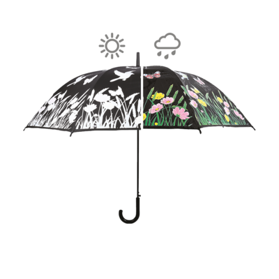 Kleur veranderende paraplu vogel