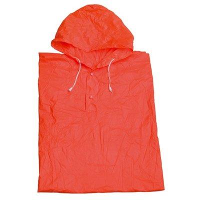 Regenponcho Oranje