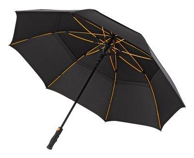 Falcone Zwarte Stormparaplu