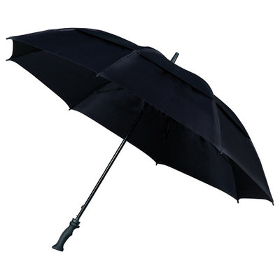 Golf-Stormparaplu Zwart