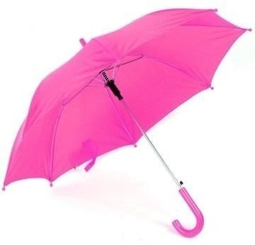 Kleurige kinderparaplu Roze