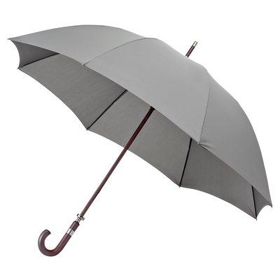 Luxe golfparaplu met haak - Grijs