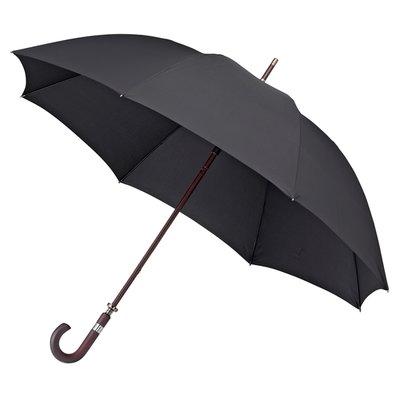 Luxe golfparaplu met haak - Zwart
