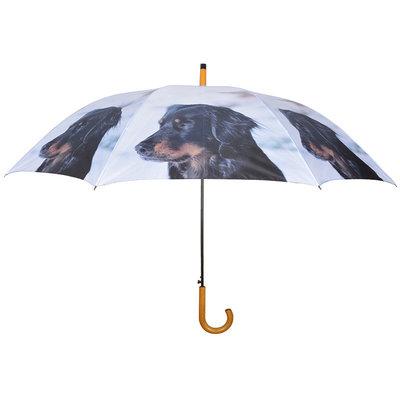 Honden Paraplu - Zwart