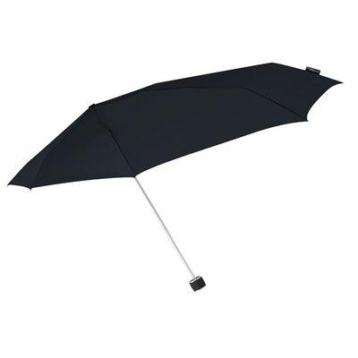 Stormini aerodynamische opvouwbare stormparaplu - zwart