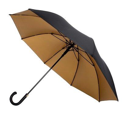 Falcone luxe golfparaplu goud-zwart