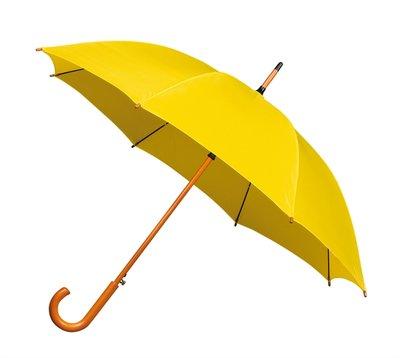 Luxe paraplu Geel