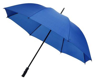 Grote blauwe golfparaplu