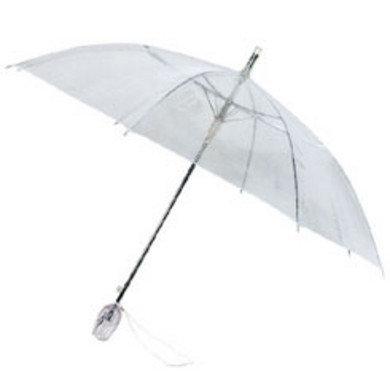 Doorzichtige paraplu tulp met eigen bedrukking