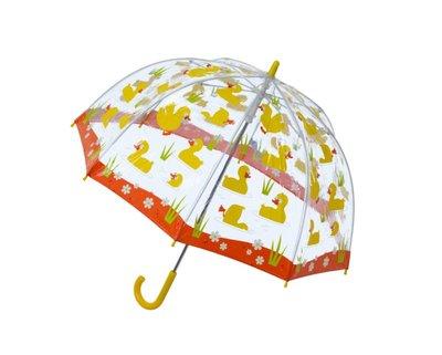 Bugzz doorzichtige paraplu Eend