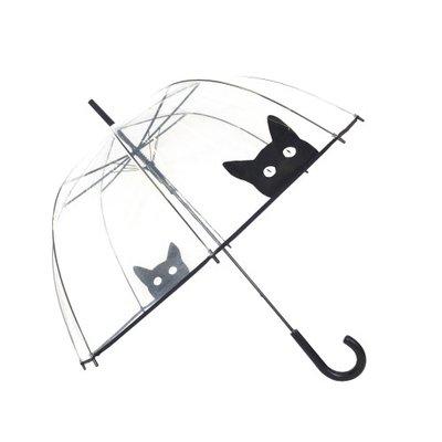 Doorzichtige paraplu kat - Smati