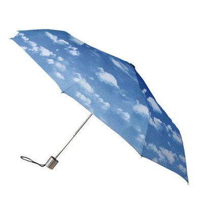 Opvouwbare paraplu met wolken