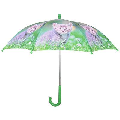 Kinderparaplu Kitten - Grijs