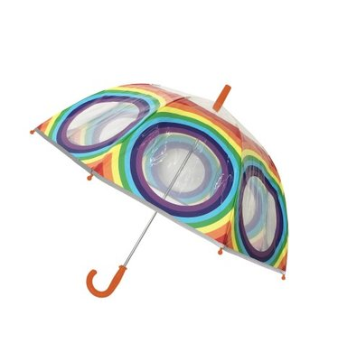 Kinderparaplu regenboog