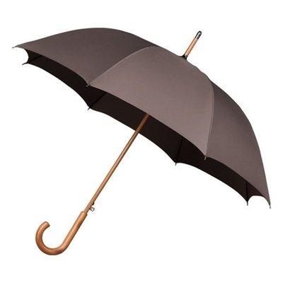 Luxe paraplu bruin - windproof