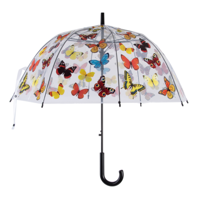 Paraplu transparant vlinders