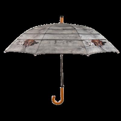 Hond en kat kiekeboe paraplu